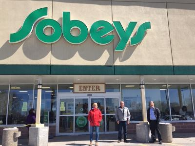 Volunteer at Sobeys
